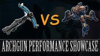 Warframe - Arch-Gun Performance Showcase (Profit-Taker Orb)