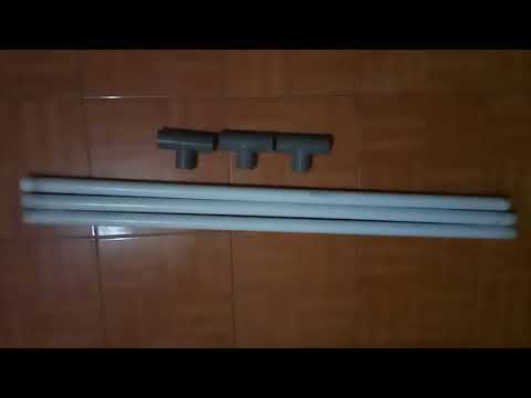 Tutorial membuat gantungan baju dari pipa PVC