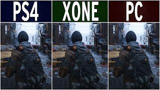 The Division – PS4 vs. Xbox One vs. PC Graphics Comparison FullHD 60fps