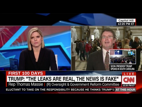 Rep. Massie Joins CNN to Talk About Flynn Resignation