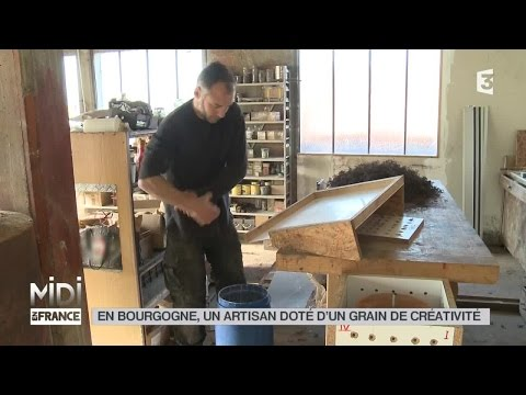 MADE IN FRANCE : En Bourgogne, un artisan doté d'un grain de créativité