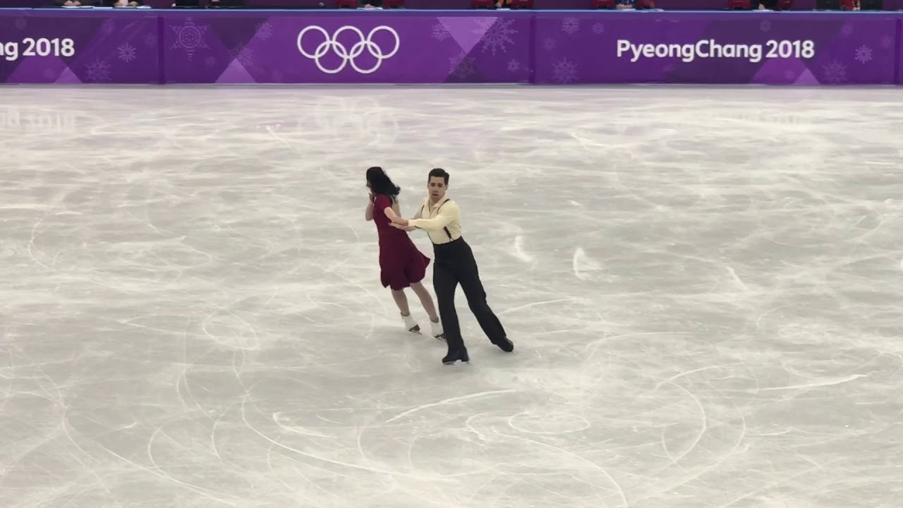 Cappellini and Lanotte 2018 Pyeongchang Olympic Free Dance 108.34