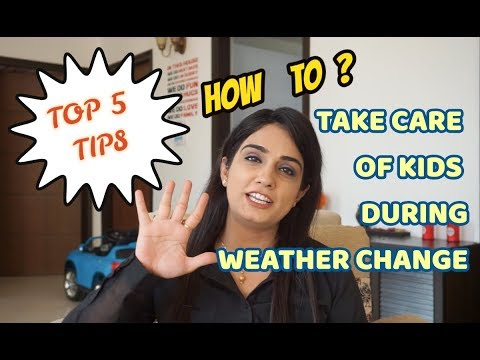 5 Tips for Kids during weather change | Baby Clothing haul | Tanvi Diaries