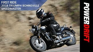 2018 Triumph Bonneville Speedmaster : Is this another Bobber? : PowerDrift