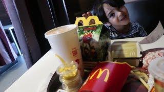 سوينا باركور في ماكدونالدز-تحديات