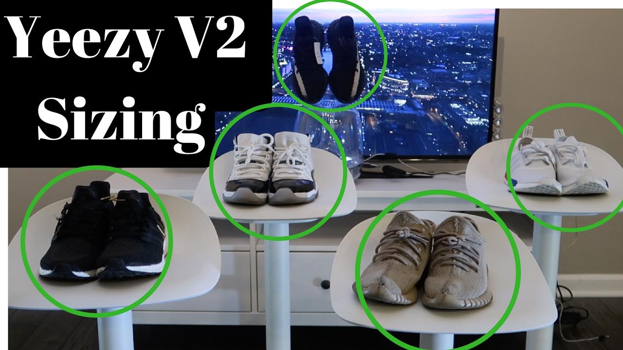 3ea4c2e97 Yeezy 350 V2 Sizing - YouTube