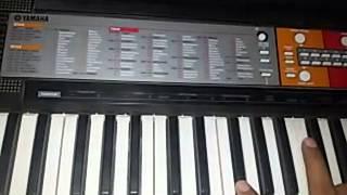 Ek pardeshi mera dil le gaya........piano keyboard
