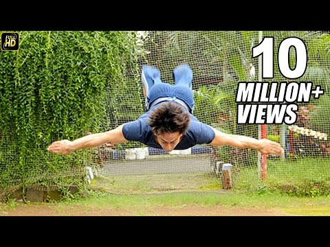 Tiger Shroff Live Stunt For Baaghi 2