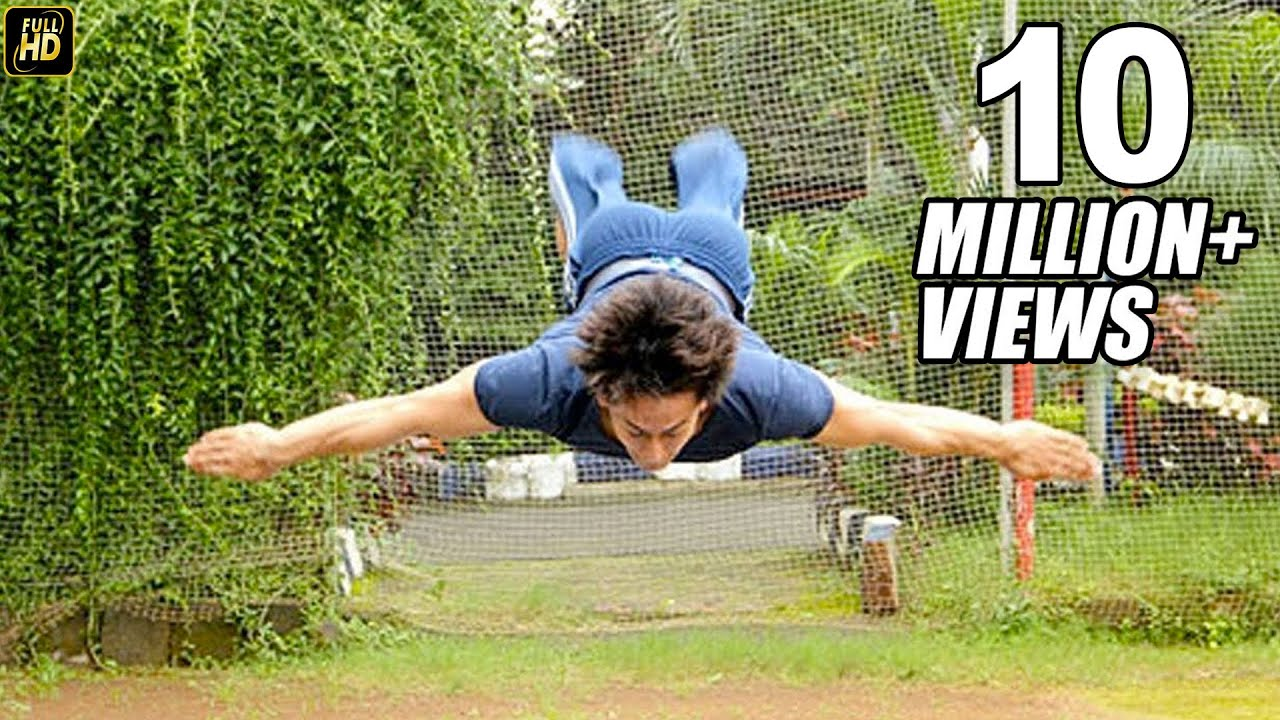 Image result for Tiger shroff Stunt
