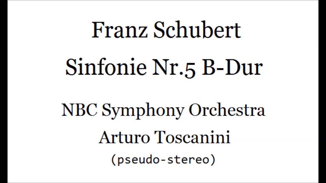 Arturo Toscanini , NBC Symphony Orchestra , Franz Schubert* Schubert - Symphony No. 9 In C