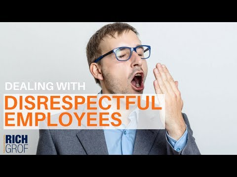 3 Reasons Your Employee is Treating You With Disrespect - Small Business Coaching