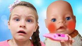Sick Song - Nursery Rhymes & Kids Songs KybiBybi Colors