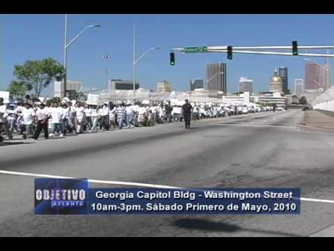 Objetivo Atlanta - Marcha Primero de Mayo 2010 Atl...