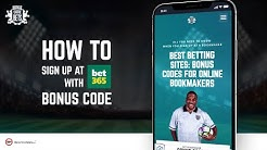 Bonus Code Bets. How to create a bet365 account
