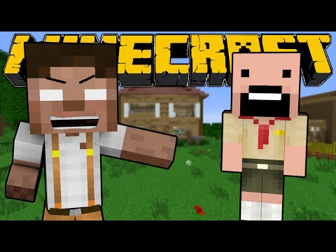 When Herobrine and Notch were Kids - Minecraft