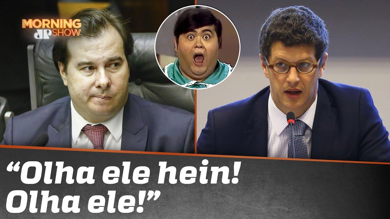 """Da conta de Ricardo Salles para Rodrigo Maia: """"NHONHO"""". Ministro explica"""