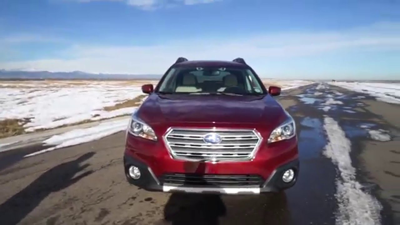 2016 subaru outback 2.5i limited - youtube