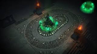 Path of Exile: Ghostflame Character Effect