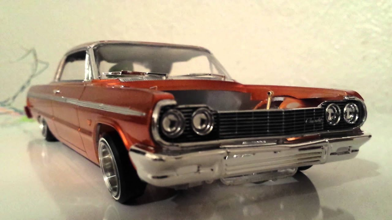 lowrider 1964 impala model car youtube