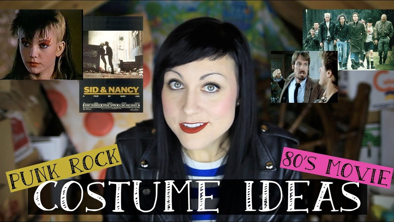 sc 1 st  YouTube & ? HALLOWEEN COSTUME IDEAS from 80s punk movies ? - YouTube