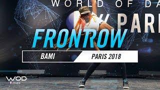 BAMI | World of Dance Paris Qualifier 2018 | FrontRow