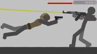 Stickman Backflip Killer 4 Part 21 Killer Mode 100% Completed (by BeatenPixel) / Android Gameplay HD