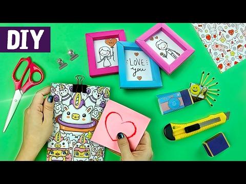 DIYs Miniaturas 🐼💟 Ideias Kawaii para o Volta às Aulas e Presentear