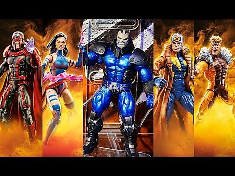 Marvel legends X-Men Wave 3-Apocalypse BAF Series-Magneto Action Figure