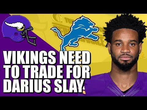 The Vikings NEED To Trade For Darius Slay
