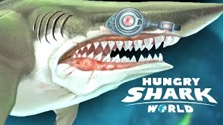 LASER GUN 3.0 GADGET MAX LEVEL - Hungry Shark World LASER GUN 3.0 Gadget Gamepaly (IOS/ANDROID)