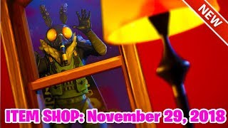Fortnite Item Shop: NEW MOTH SKIN! (November 29th 2018) Fortnite Battle Royale