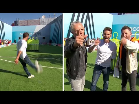 David Bentley scores an amazing top bin goal! ⚡   You Know The Drill LIVE   With Jimmy Bullard