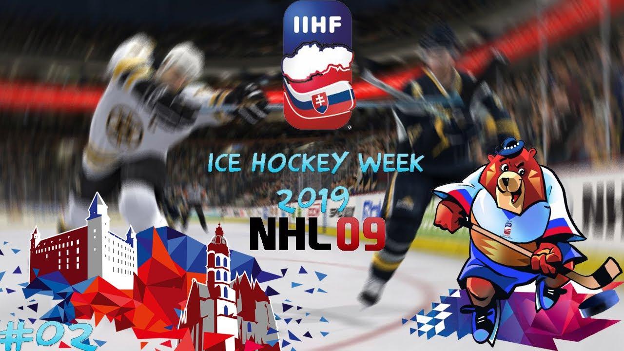 Ice Hockey Week 2019 02 Slovensko Finsko Youtube