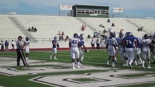 highlights blinn football vs arkansas baptist oct 8 2016