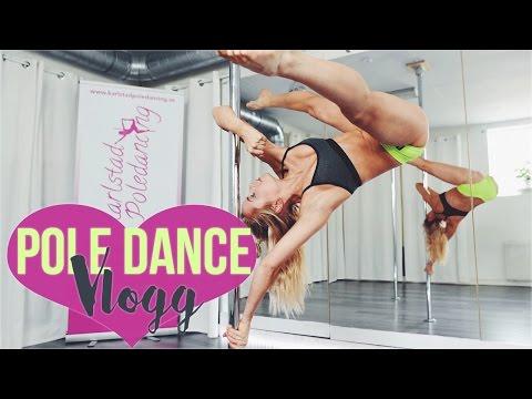 Pole Dance är LIVSFARLIGT!! ♡ vlogg