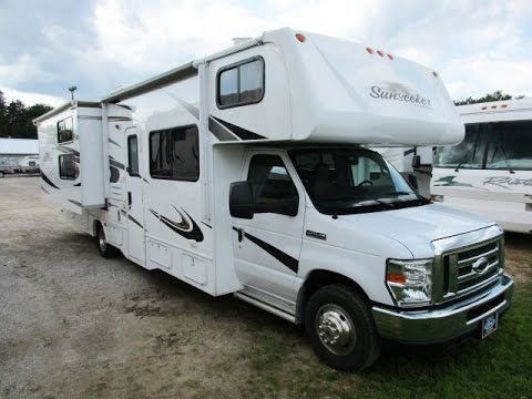 2014 sunseeker 3170ds used bunkhouse class for Used class c motor home