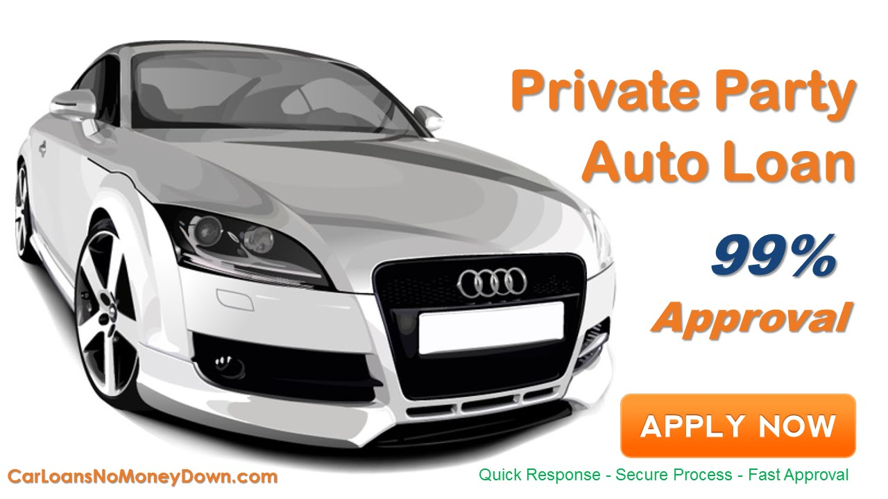 auto loans for private party purchase with bad credit what is it