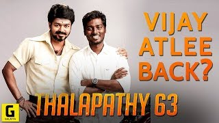 Thalapathy 63: Vijay-Atlee Again? AGS Entertainment