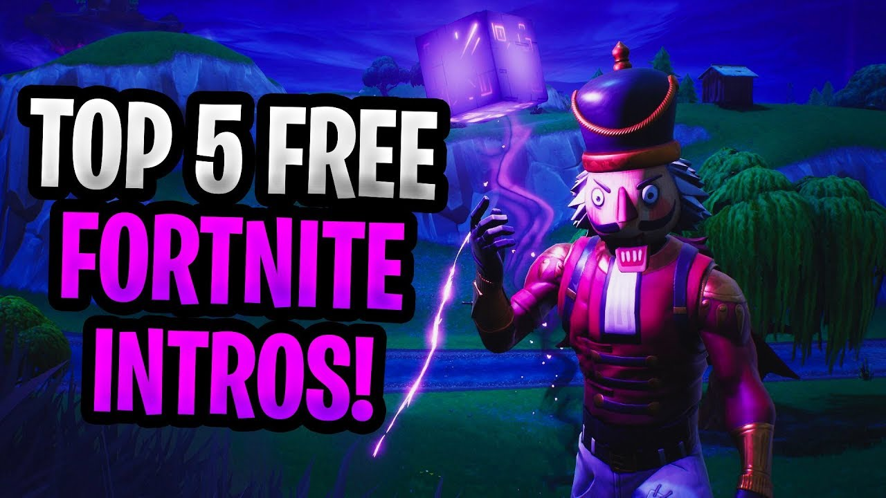 top 5 fortnite battle royale intros without text free to use download 3 - fortnite intro