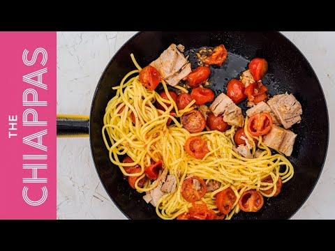 Tuna & Tomato   Quick Spaghetti Pasta Sauce