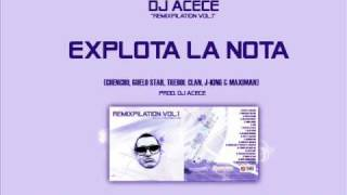 Explota La Nota Remix - Guelo Star, J-king, Maximan, Trebol Clan, Chencho (prod Dj Acece)
