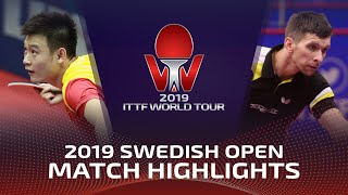 Михаил Пайков vs Liu Dingshuo | Swedish Open 2019 (Pre)