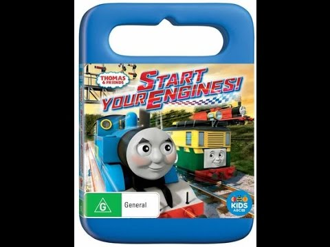 opening to thomas and friends start your engines 2016 dvd youtube. Black Bedroom Furniture Sets. Home Design Ideas