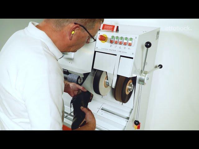 Фрезерно-шлифовальный станок со встроенным пылеуловителем, Flexam Compact. Видео для специалистов