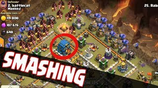 Max Hogs Smashing With Max Bowler | Best Hogs Army 3 Star War Attack TH12 | Clash Of Clans war
