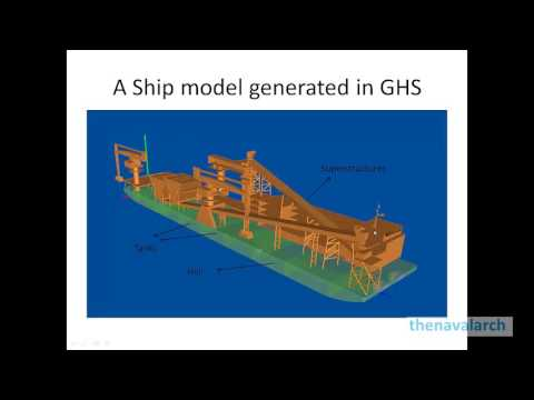 An introduction to GHS Ship Hydrostatics & Stability Software (www.thenavalarch.com)