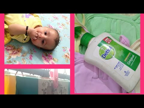 STAIN PROOF CLOTHES WASHING///HOW TO WASH BABY CLOTHES WITH HANDS....