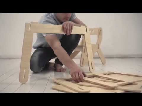PLAYPLY furniture - video instruction