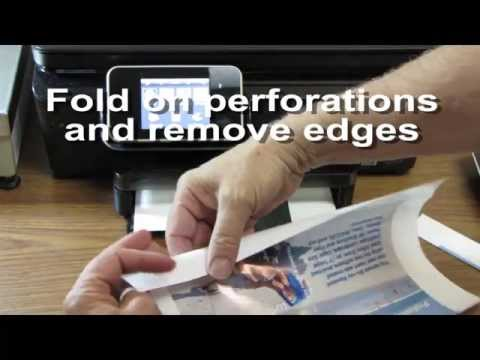 How to Print Blu-ray Glossy Cover Inserts #JG43120