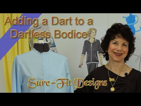 How to Add a Bust Dart by Sure-Fit Designs™